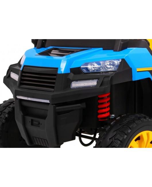 Elektrické autíčko Farmer modré